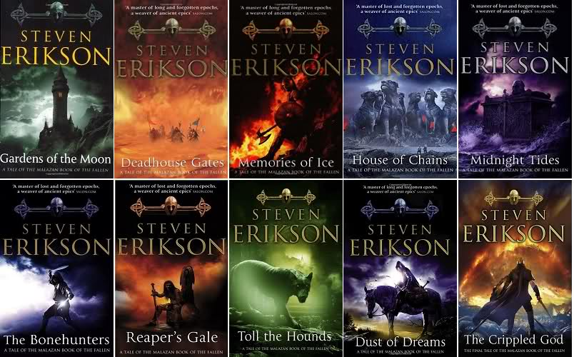 Steven Erikson, The Malazan Book of the Fallen (1999–2011) – Re-enchantment  Of The World