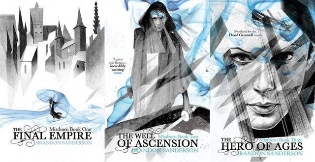 Brandon Sanderson, Mistborn Trilogy (2006–2008) – Re-enchantment Of The  World