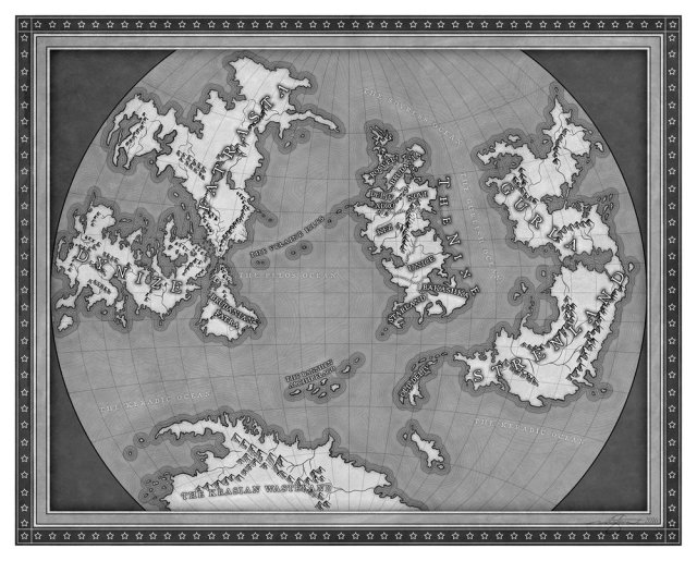 Sins of Empire map