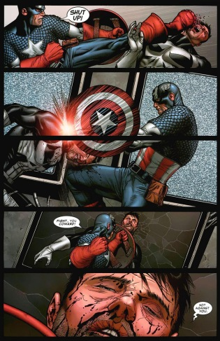 Punisher vs Cap 1
