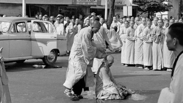 Vietnam War self-immolation