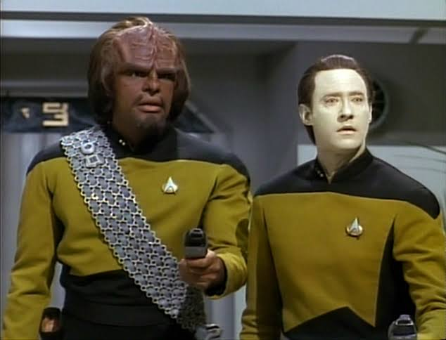 TNG Worf and Data